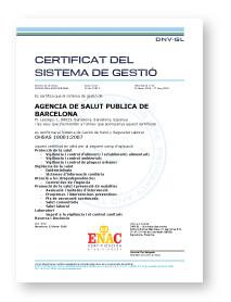 certificat ISO 18001