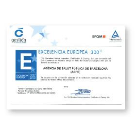 certificat EFQM300